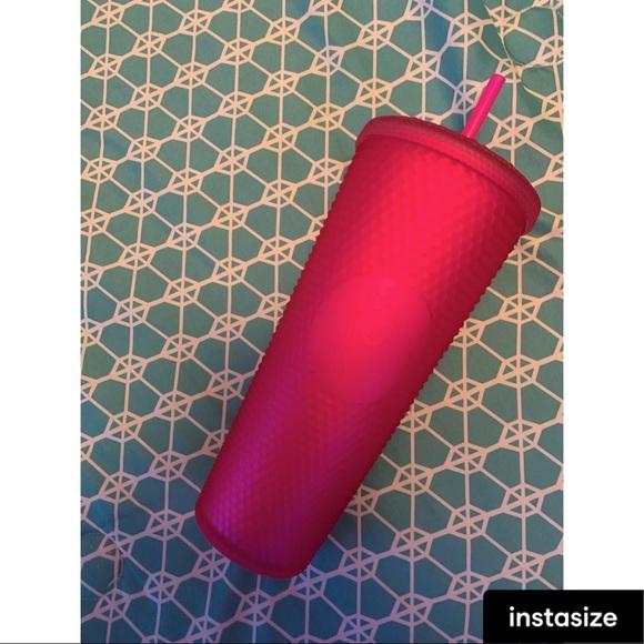 NWT Pink Jelly Starbucks Studded 💕